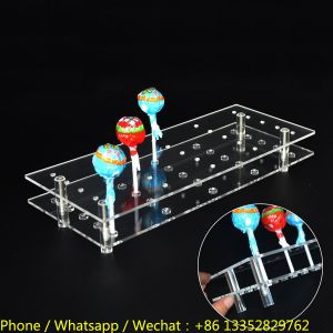 25 Holes Acrylic Pop Lollipop Display Stand for Birthday Parties pictures & photos
