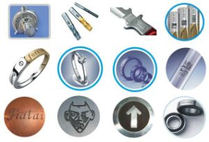 Laser Marking Machine Supported Materials Included Metal and Non-Metal pictures & photos