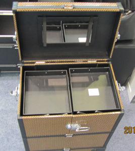 Aluminum Hard Case for Cosmetics/Jewelry/Accessories/Games, etc. ATA Case Flight Rack Cases Flight Case Aluminum Case Flight