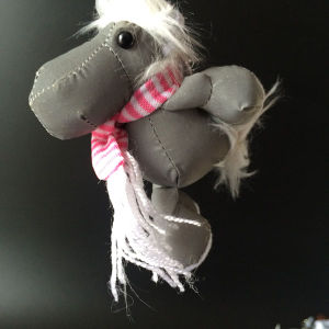 Promotion Toys New Material Stuffed Horse Plush Reflective Toys pictures & photos