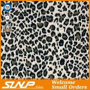 100%Cotton Leopard Printing Fabric for Garment and Home Textiles