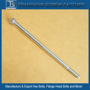 Medium Carbon Steel Hex Flange Head Long Bolts pictures & photos