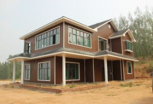 Decorative Heat Insulation Embossed Metallic Panel for Steel Structure Prefabricated Houses pictures & photos