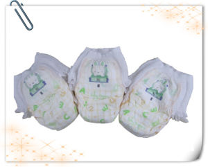 2014 Hot Sale Breathable Dry 100%Cotton Baby Diaper (LD-P33) pictures & photos
