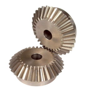 Precision Hardened Steel Straight Teeth Bevel Gear pictures & photos