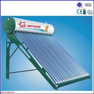 Vacuum Tube Galvanized Steel Solar Hot Water System pictures & photos