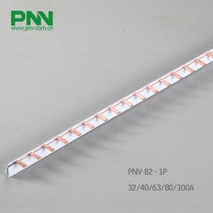 Bubar, 1p Pin Type C45 Copper Busbar 32A 1.0*5mm