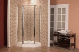 Caml 900*900 Diamond Pivot Shower Enclosure/Shower Door/Shower Room (FGB301)