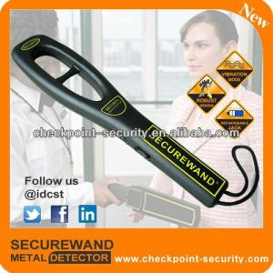 Low Weight 35cm Length Hand Held Metal Detector