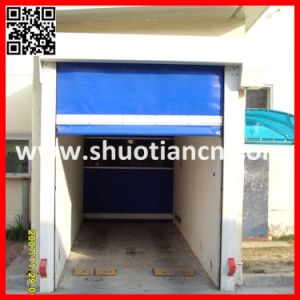 Auto Industrial PVC High Speed Sheet Shutter Door/Fast Roller Shutter Door (ST-001) pictures & photos
