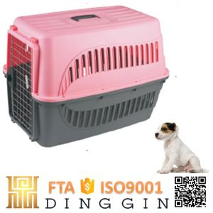 Colourful Convenient Airline Dog Cage Plastic pictures & photos