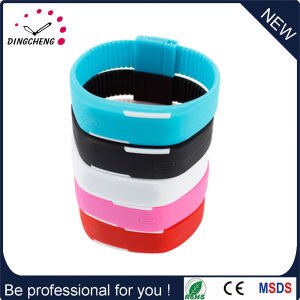 Silicone Digital Wristband LED Bracelet Watch (DC-1119) pictures & photos