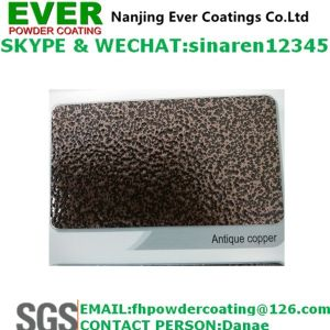 Electrostatic Spray Antique Copper Grass Vein Powder Coating Paint pictures & photos