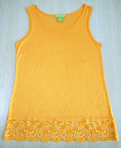 Women Sleeveless Rayon Dress Fashion Lace Clothes pictures & photos