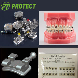 Manufacturer Orthodontic Metal Orthon Brackets pictures & photos