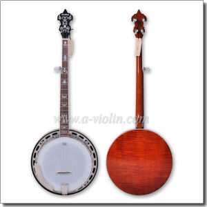 Maple Plywood 5 String Resonator Banjo (ABO245H) pictures & photos