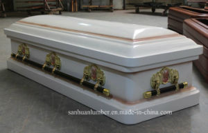 18 Ga Metal Coffin & Casket (WM01) pictures & photos