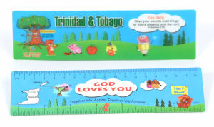 Office Stationery Ruler with 3D&Flip Effect Pet pictures & photos