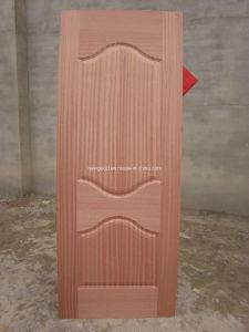 Sapeli Veneered HDF Door Skin pictures & photos
