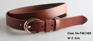 Leather Fashion Women Belts (FM1388) pictures & photos