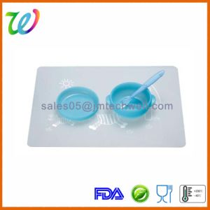 BPA Free Baby Silicone Snack Food Feeding Bowl with Lid pictures & photos