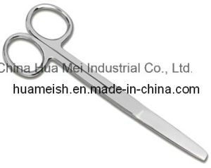 Surgical Dressing Scissors, Single Use Dressing Scissors, TUV Ce and ISO 13485 pictures & photos
