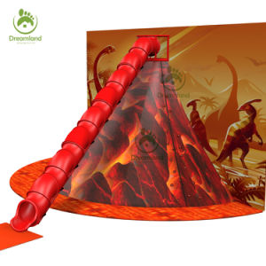 Latest Volcano Game with Grips Climbing and Tube Slide pictures & photos