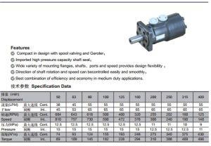 Cycloid Gear Hydraulic Motor Orbit Motor pictures & photos