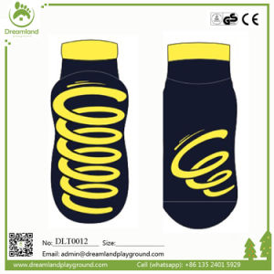 Anti-Slip Trampoline Socks for Trampoline Parks pictures & photos