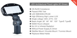 Ce RoHS LED Flood Street Light with 5 Years Warranty pictures & photos