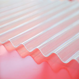 Clear Polycarbonate Corrugated Color Coated Roofing Sheet with UV Protection pictures & photos