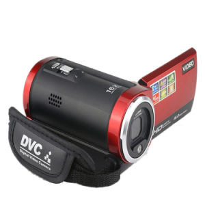 Sx05 HD Camcorder 16m Pixels 16X Digital Zoom 720p Travel Camera Mini DV Dis Gift Red pictures & photos