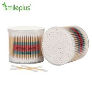 Bamboo Stick Cotton Swabs for Family Care and Hospital Care pictures & photos