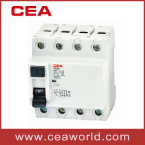 Cedl 4p Type Earth Leakage Circuit Breaker pictures & photos
