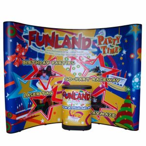 Magnetic Pop up Booth Backdrop Banner Display Exhibition Stand for Advertising pictures & photos
