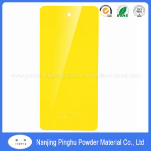 High Chemical Resistant Yellow Powder Coating and Paint pictures & photos