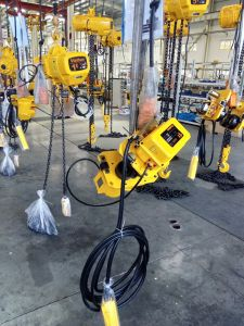 500kg Crane Used Electric Chain Hoist pictures & photos