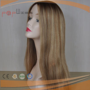 Human Hair Omber Dark Roots Blonde Wig (PPG-l-0169) pictures & photos
