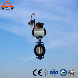 150lb Motorized/Electric Wafer Butterfly Valve (GAD971X) pictures & photos