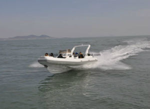 Liya 8.3m Center Console Fiberglass Rigid Inflatable Fishing Boat pictures & photos
