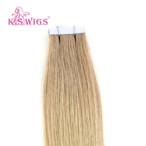 K. S Wigs New Virgin Remy Hair European Tape Hair pictures & photos