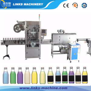 Automatic PVC Sleeve Bottle Label Shrinking Machinery pictures & photos