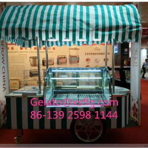 Chinese Supplier for Mobile Veding Ice Cream Cart pictures & photos