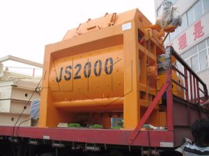 CE & ISO Certified Electric Concrete Mixer for Sale Js2000 pictures & photos