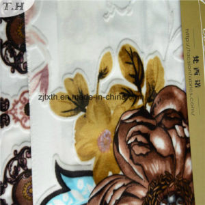 100% Polyester Flowers Printing Fabric for Curtain pictures & photos