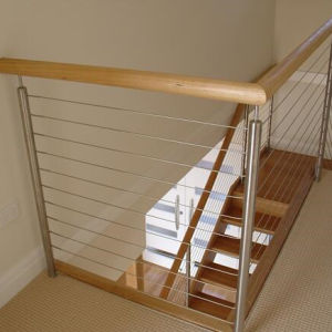 Stainless Steel Cable Railing for Concrete Terrace pictures & photos