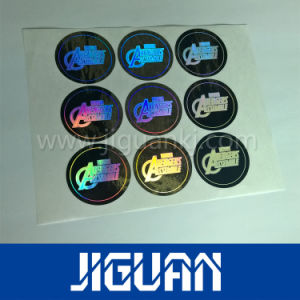 Golden Void Security Laser Holographic Sticker pictures & photos