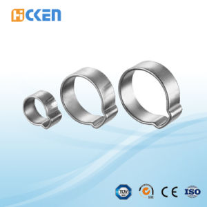 Stainless Steel Adjustable American Type Perforated Band Quick Release Hose Clamps pictures & photos