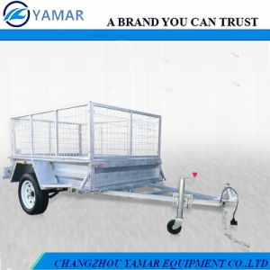 Tipping Box Trailer with Winch pictures & photos