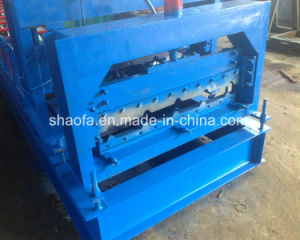 Color Steel Glazed Tile Roofing Sheet Roll Forming Machine pictures & photos